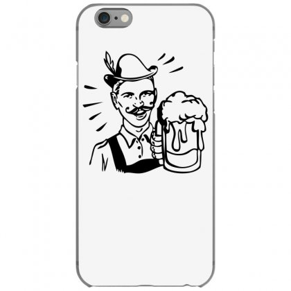 Retro Guy With Beer Iphone 6/6s Case Designed By Specstore
