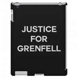 Justice For Grenfell iPad 3 and 4 Case | Artistshot