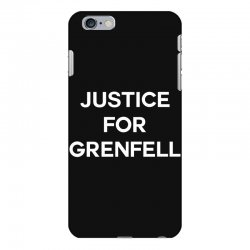 Justice For Grenfell iPhone 6 Plus/6s Plus Case | Artistshot