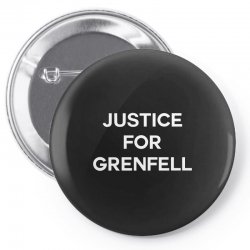 Justice For Grenfell Pin-back button | Artistshot