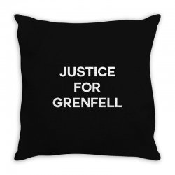 Justice For Grenfell Throw Pillow | Artistshot