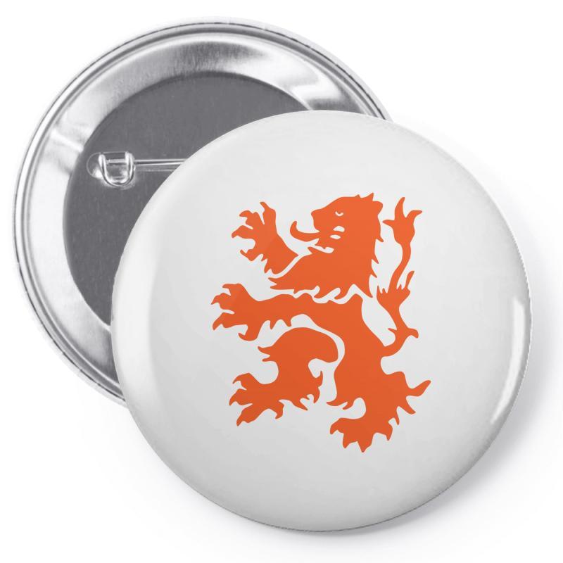 14a4b848f9927 Custom Dutch Lion Rampant Pin-back Button By Secreet - Artistshot