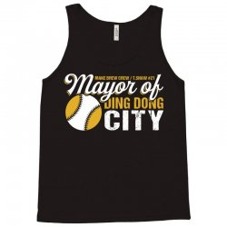 Travis Shaw - Mayor of Ding Dong City Tank Top | Artistshot