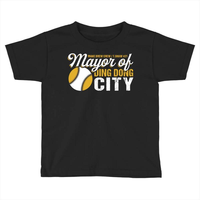 Travis Shaw - Mayor Of Ding Dong City Toddler T-shirt | Artistshot