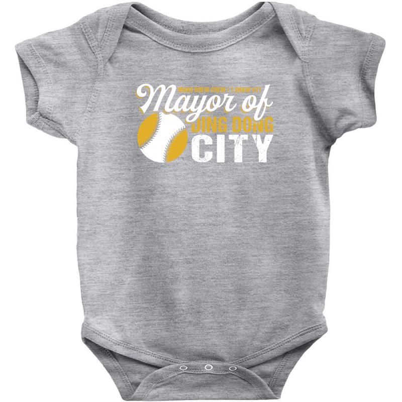 Travis Shaw - Mayor Of Ding Dong City Baby Bodysuit | Artistshot