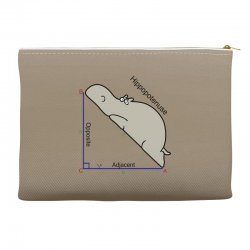 hypotenuse math humor Accessory Pouches | Artistshot