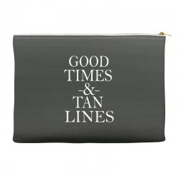 good times and tan lines Accessory Pouches | Artistshot