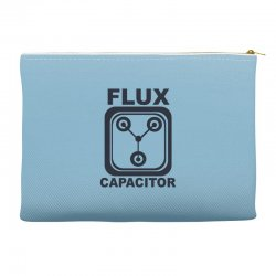 flux capacitor Accessory Pouches | Artistshot