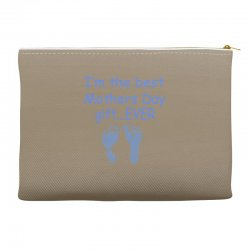best mother day gift ever Accessory Pouches   Artistshot