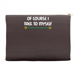 geek expert advice   science   physics   nerd t shirt Accessory Pouches | Artistshot