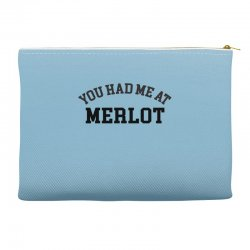 you had me at merlot Accessory Pouches | Artistshot