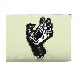 screaming hand werewolf Accessory Pouches | Artistshot
