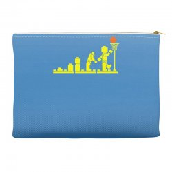 evolution lego basketball sports funny Accessory Pouches | Artistshot