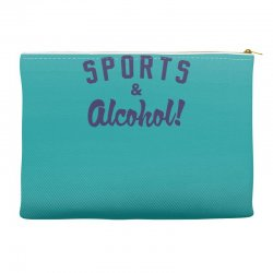 sports and alcohol! Accessory Pouches | Artistshot