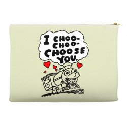 i choo choo choose you Accessory Pouches | Artistshot