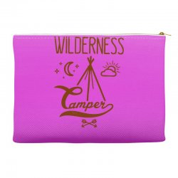 wilderness camper Accessory Pouches | Artistshot