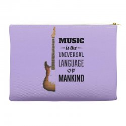 music quotes Accessory Pouches | Artistshot