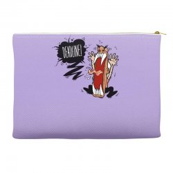 Angry Boss Screaming Deadline Accessory Pouches | Artistshot