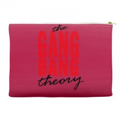 the gang bang theory Accessory Pouches | Artistshot