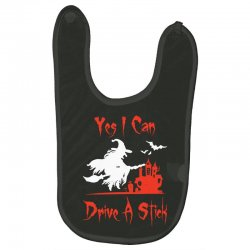 yes i can drive a stick funny Baby Bibs   Artistshot
