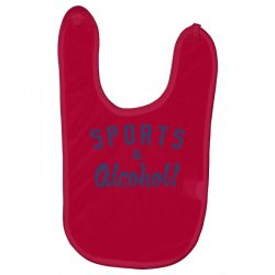 sports and alcohol! Baby Bibs | Artistshot