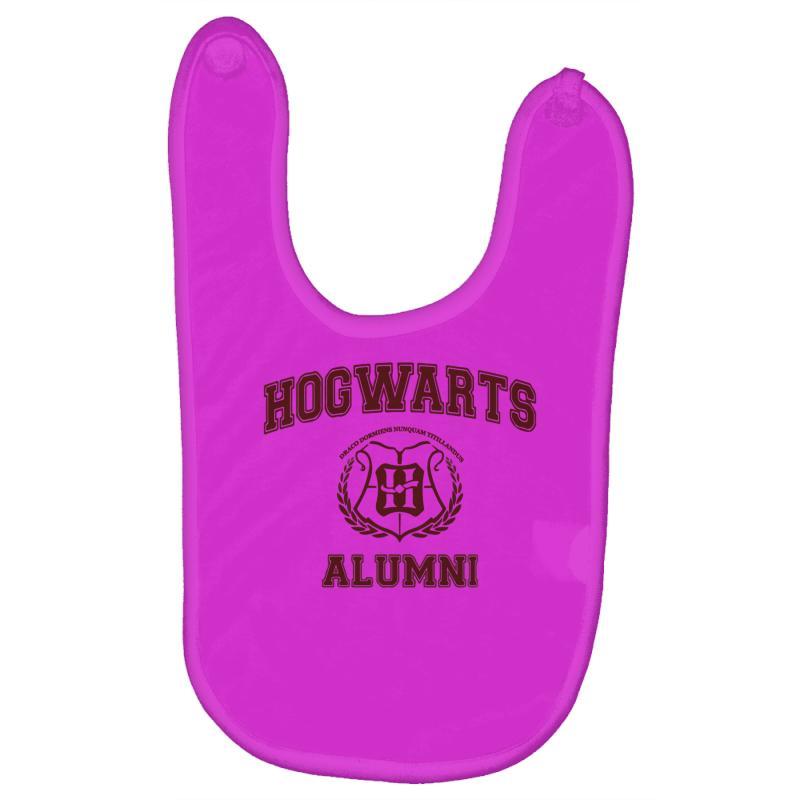048acde27e Custom Hogwarts Alumni Baby Bibs By Ismanurmal4 - Artistshot
