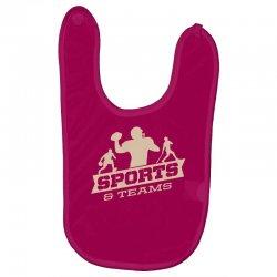 sports and teams Baby Bibs | Artistshot