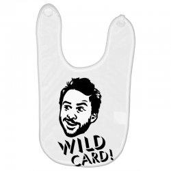 wild card Baby Bibs   Artistshot