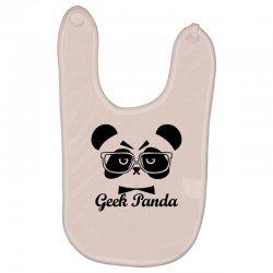 Geek Panda Baby Bibs | Artistshot