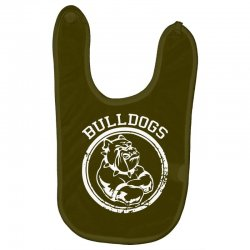 Bulldog Sports Team Baby Bibs | Artistshot