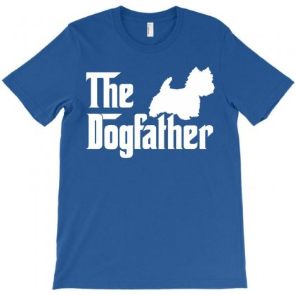 The Dogfather West Highland White T-shirt Designed By Killakam