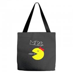 Mrs. Pacman Tote Bags | Artistshot