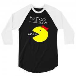Mrs. Pacman 3/4 Sleeve Shirt | Artistshot