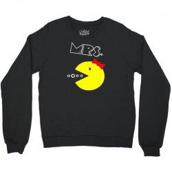 Mrs. Pacman Crewneck Sweatshirt | Artistshot