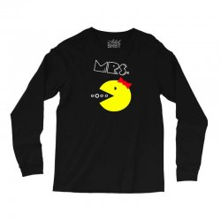 Mrs. Pacman Long Sleeve Shirts | Artistshot