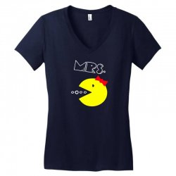 Mrs. Pacman Women's V-Neck T-Shirt | Artistshot