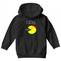 Mrs. Pacman Youth Hoodie | Artistshot