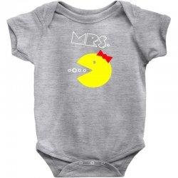 Mrs. Pacman Baby Bodysuit | Artistshot