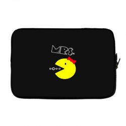 Mrs. Pacman Laptop sleeve | Artistshot
