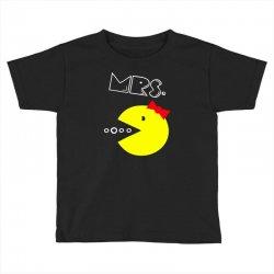 Mrs. Pacman Toddler T-shirt | Artistshot