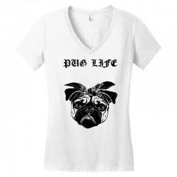 a6b9f6a6 Custom Pug Life Women's Triblend Scoop T-shirt By Sbm052017 - Artistshot