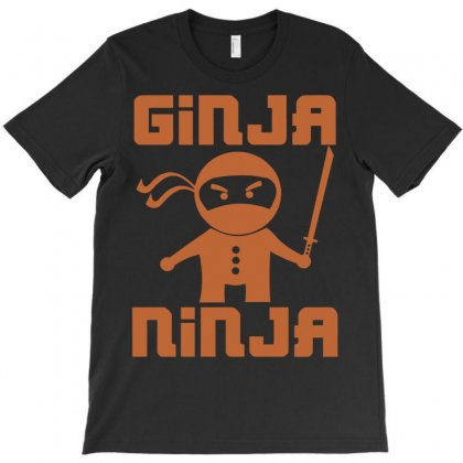 Ginja Ninja T-shirt Designed By Secreet