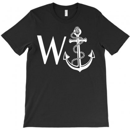 W Anchor T-shirt Designed By Secreet