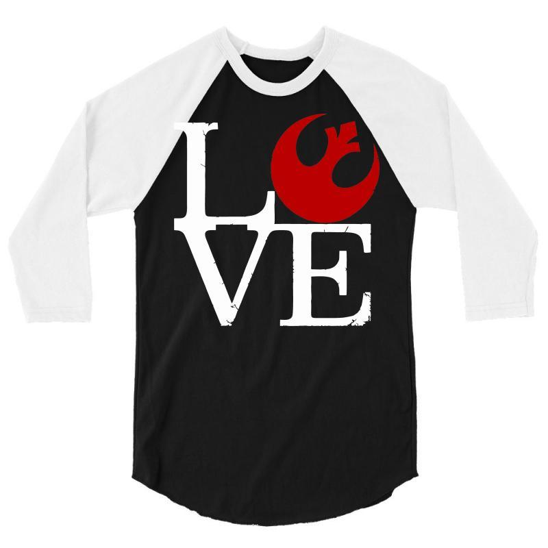 Love Rebels 3/4 Sleeve Shirt | Artistshot