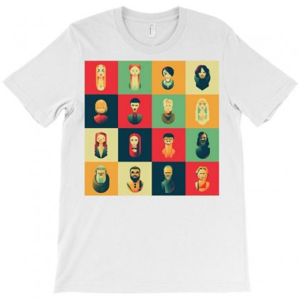 Family Of Thrones T-shirt Designed By Anggafadil
