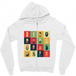 family of thrones Zipper Hoodie | Artistshot