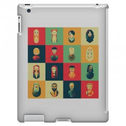family of thrones iPad 3 and 4 Case | Artistshot