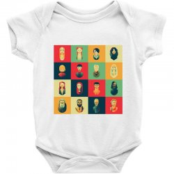 family of thrones Baby Bodysuit | Artistshot