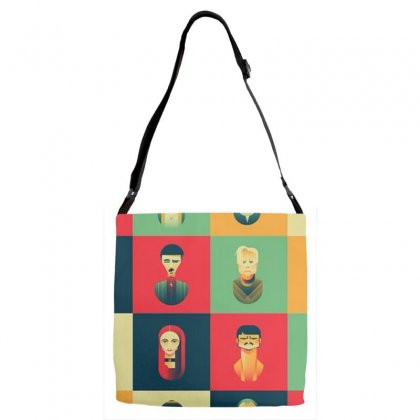 Family Of Thrones Adjustable Strap Totes Designed By Anggafadil