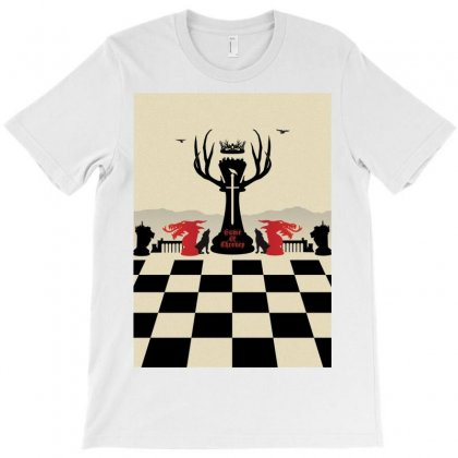 Chess Of Thrones T-shirt Designed By Anggafadil
